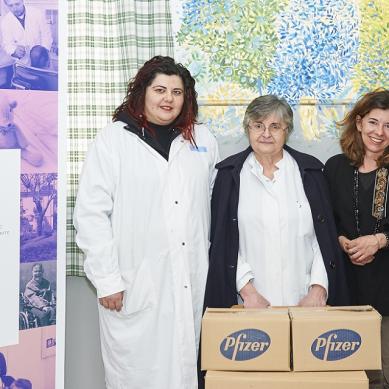 Η Pfizer Hellas στηρίζει το Ίδρυμα Περιθάλψεως Χρονίως Πασχόντων