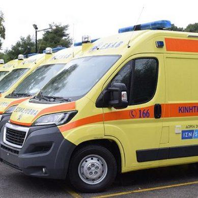 Προμήθεια νέων ασθενοφόρων και αντικατάσταση εξοπλισμού νοσοκομείων