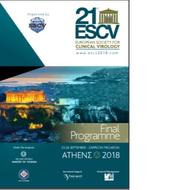 21st ESCV – European Society for Clinical Virology