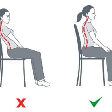 Εσείς γνωρίζατε ότι η κακή στάση σώματος είναι αιτία πονοκεφάλου;