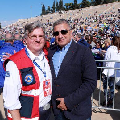 Σημαντική ήταν η συμβολή των μελών του ΙΣΑ, στην υγειονομική κάλυψη του 36ου Μαραθωνίου της Αθήνας