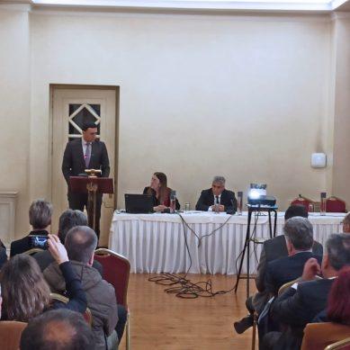 Ομιλία του Υπ. Υγείας στην παρουσίαση των Κέντρων Εμπειρογνωμοσύνης Σπάνιων Νοσημάτων της Ιατρικής Σχολής του ΕΚΠΑ