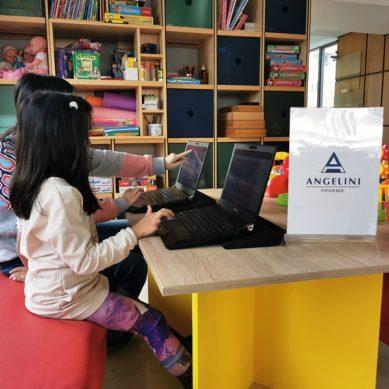 Η Angelini Pharma υποστηρίζει το Χαμόγελο του Παιδιού με δωρεά τεχνολογικού εξοπλισμού