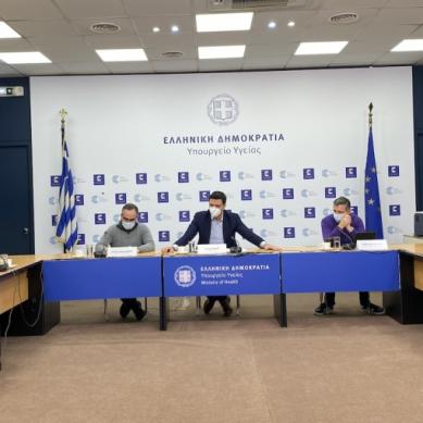 Συνάντηση για τη διαχείριση της αυξημένης πίεσης στις ΜΕΘ Αττικής, συγκάλεσε ο Υπ. Υγείας Β. Κικίλιας